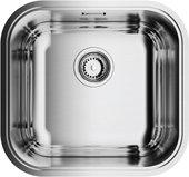 Кухонная мойка без крыла, нержавеющая сталь, сатин Omoikiri Omi 44-IN 4993189