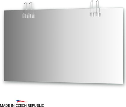 Зеркало со светильниками 130х75см Ellux ART-A4 0216