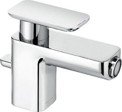 Смеситель для биде однорычажный с донным клапаном, хром Kludi E2 492160575