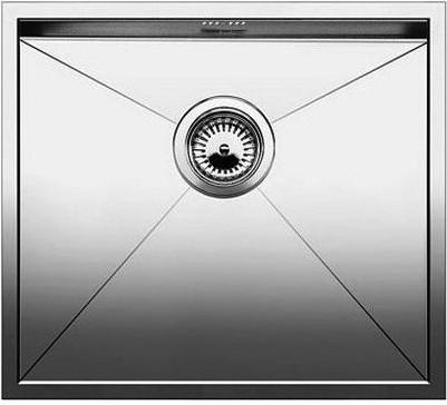 Кухонная мойка без крыла, нержавеющая сталь зеркальной полировки Blanco ZEROX 500-IF 517244