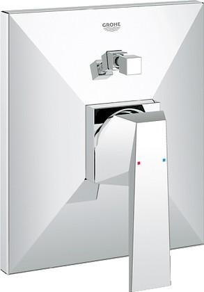 Смеситель встраиваемый однорычажный для ванны встраиваемый без излива и без встраиваемого механизма, хром Grohe ALLURE Brilliant 19785000