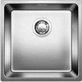Кухонная мойка без крыла, оборачиваемая с клапаном-автоматом, нержавеющая сталь зеркальной полировки Blanco ANDANO 400-U 518310