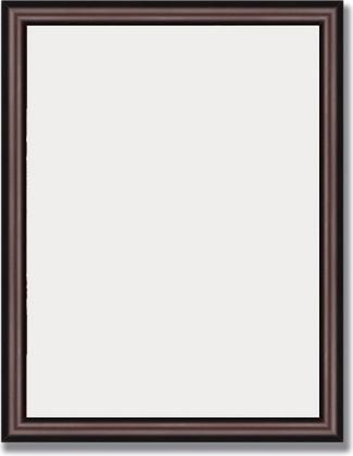 Зеркало 35x45см в багетной раме махагон Evoform BY 1325