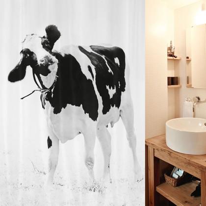 Штора для ванной комнаты 180x200см текстильная Spirella TEENIE 1017895