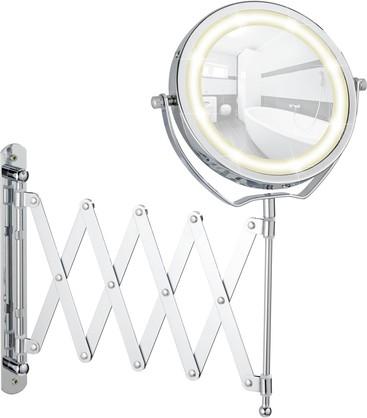 Зеркало настенное косметическое с подсветкой Wenko BROLO 3656380100