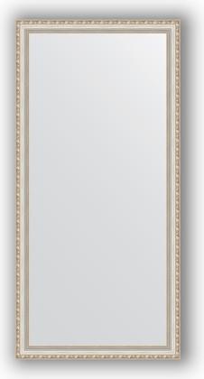 Зеркало в багетной раме 75x155см версаль серебро 64мм Evoform BY 3334
