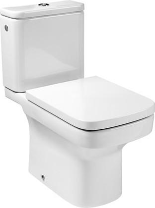 Унитаз напольный, комплект (чаша, бачок, сиденье с микролифтом) Roca DAMA 342787-1