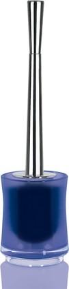 Ёрш с напольной фиолетовой подставкой Spirella SYDNEY Clear-Acrylic 1017786
