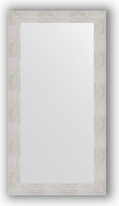 Зеркало в багетной раме 56x106см серебреный дождь 70мм Evoform BY 3080