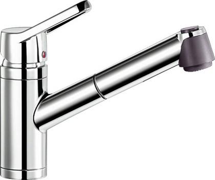 Смеситель кухонный однорычажный с длинным рычагом управления, хром Blanco ACTIS-S 512913