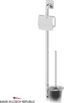 Стойка с аксессуарами для туалета, хром Ellux AVANTGARDE AVA 074