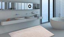 Коврик двухсторонний для ванной 60x100см натуральный Grund LUXOR 2625.16.7151