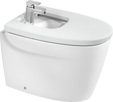 Керамическое напольное белое биде Roca KHROMA 357657000