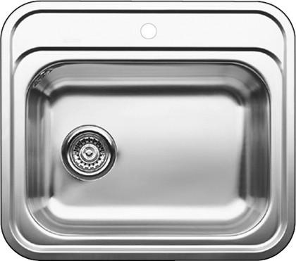 Кухонная мойка без крыла, нержавеющая сталь полированная Blanco DANA-IF 514646