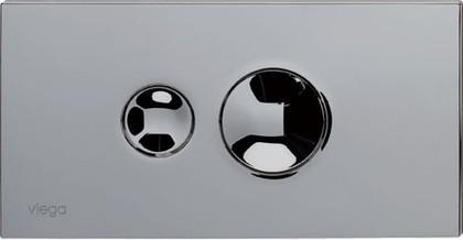 Кнопка смыва для унитаза пластиковая, хром Viega Visign for Style 10 596323