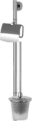 Стойка с аксессуарами для туалета настенная FBS VIZOVICE VIZ 074+UNI 048,049