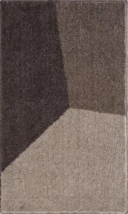 Коврик для ванной 60x100см серо-коричневый Grund SHI 3625.16.256