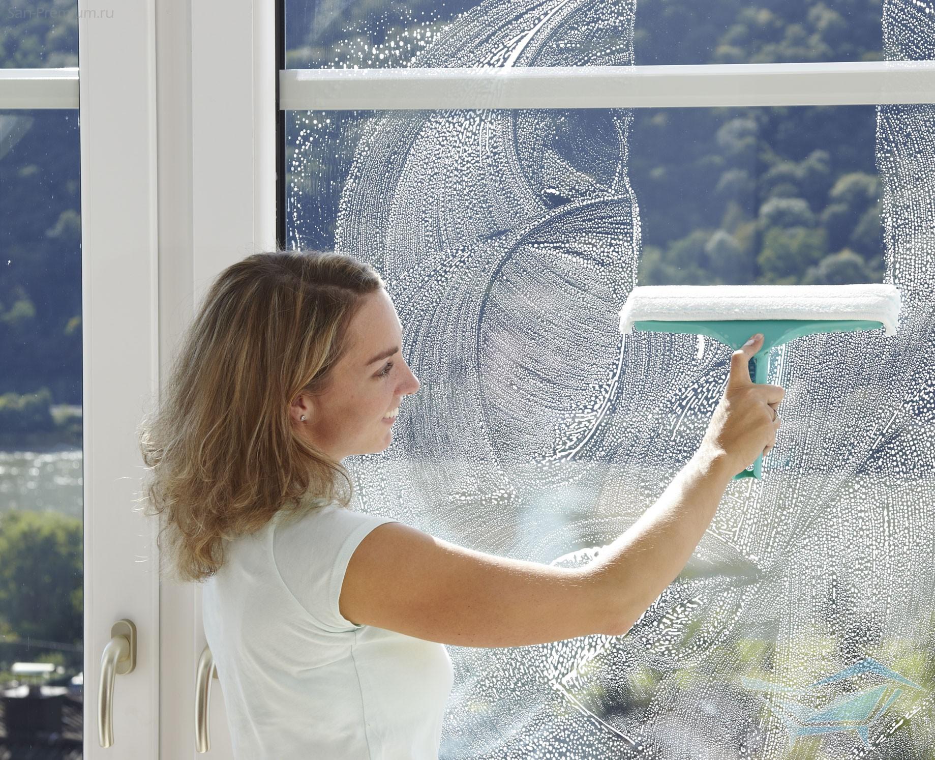 Как сделать щетку для мытья окон