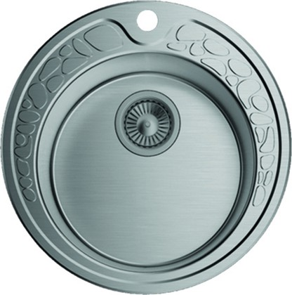 Кухонная мойка без крыла, нержавеющая сталь матовой полировки Omoikiri Tovada 49-1-IN 4993006