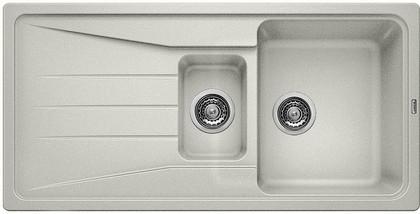 Кухонная мойка оборачиваемая с крылом, гранит, жемчужный Blanco SONA 6 S 520483