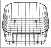 Корзина для посуды нержавеющая сталь 350x315x120мм Blanco 514238