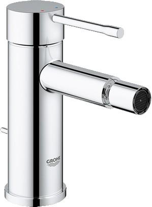 Смеситель для биде однорычажный с донным клапаном, хром Grohe ESSENCE New 32935001