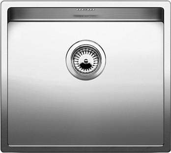 Кухонная мойка без крыла, нержавеющая сталь зеркальной полировки Blanco CLARON 450-IF 517214