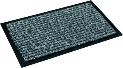 Коврик придверный 60x90см для помещения серый, полиамид Golze KARAT 620-55-40