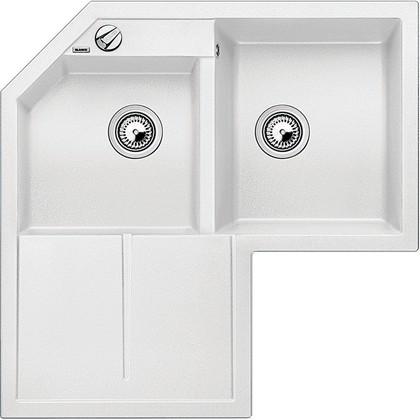 Кухонная мойка крыло слева, гранит, белый Blanco METRA 9 Е 515568