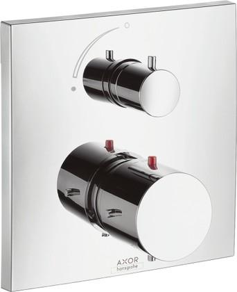 Термостат для душа с запорным вентилем встраиваемый без встраиваемого механизма и без подключения шланга, хром Hansgrohe AXOR Starck X 10706000