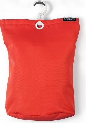 Подвесная сумка для белья, 35л ярко-красная Brabantia 106088