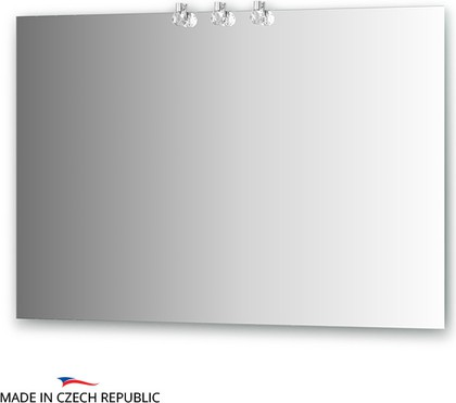 Зеркало 110х75см со светильниками Ellux CRY-D3 0214
