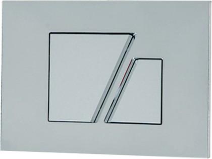 Клавиша смыва для инсталляции для унитаза, хром матовый Sanit 16.707.93..0000
