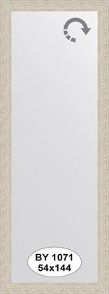 Зеркало 54x144см в багетной раме белёный дуб Evoform BY 1071