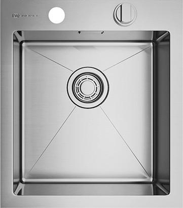 Кухонная мойка без крыла, нержавеющая сталь Omoikiri Kirisame 41-IN 4993056