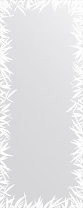Зеркало для ванной с орнаментом 60x150см FBS CZ 0749