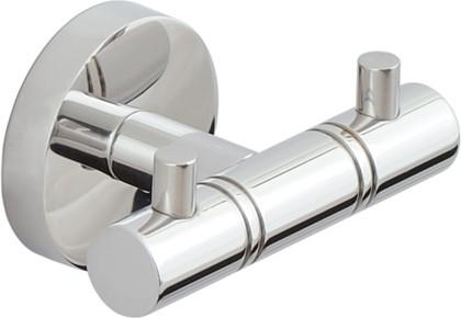 Вешалка 2 крючка L85 хром Сунержа Каньон 00-3000-1002
