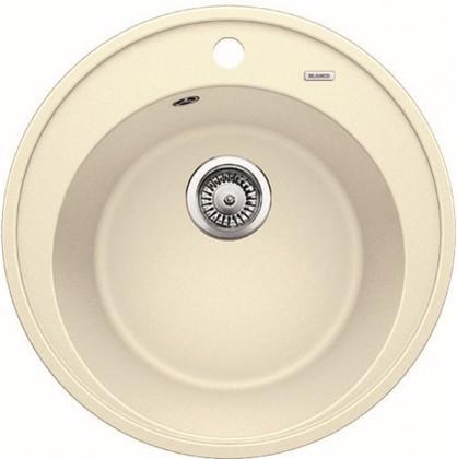 Кухонная мойка круглая, гранит жасмин Blanco RIONA 45 521399