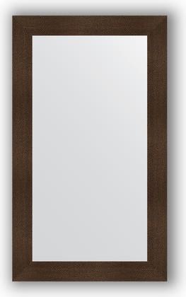 Зеркало в багетной раме 70x120см бронзовая лава 90мм Evoform BY 3216