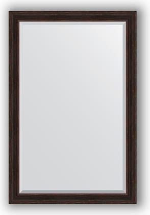 Зеркало с фацетом в багетной раме 119x179см темный прованс 99мм Evoform BY 3629