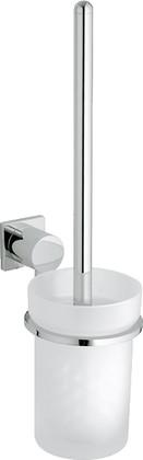 Туалетный ёршик со стеклянной колбой и настенным хромированным держателем Grohe ALLURE 40340000
