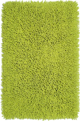 Коврик для ванной 60x90см салатовый Grund CORALL 2561.14.7163