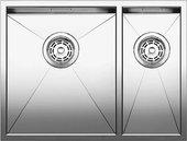 Кухонная мойка основная чаша слева, без крыла, нержавеющая сталь зеркальной полировки Blanco ZEROX 340/180-U 517254