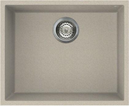 Кухонная мойка без крыла, гранит, бежевый Omoikiri Bosen 54-U-SA 4993163