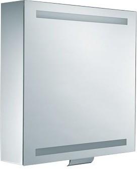 Зеркальный шкаф 65x65см с поднимающейся дверцей и подсветкой Keuco EDITION 300 30201171201