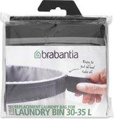 Мешок для бака для белья, 35л серый Brabantia 102325