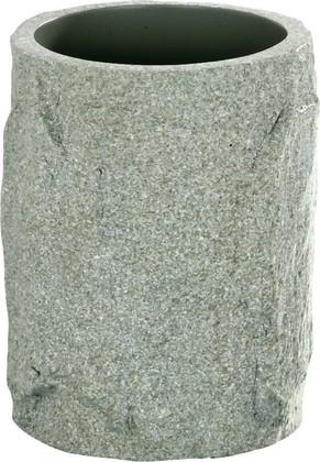 Стакан серый Wenko ROCKS 20032100