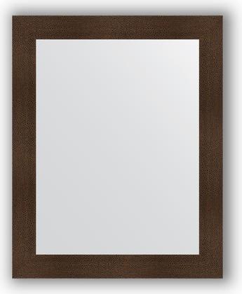 Зеркало в багетной раме 80x100см бронзовая лава 90мм Evoform BY 3280