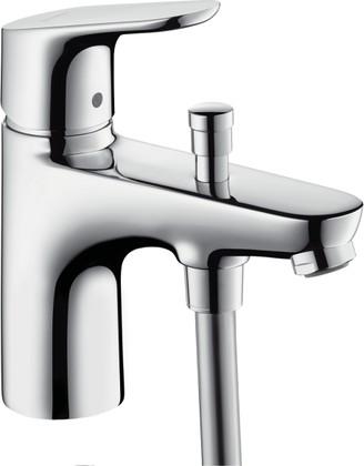 Смеситель на одной отверстие для установки на борт ванны, хром Hansgrohe Focus E² 31930000