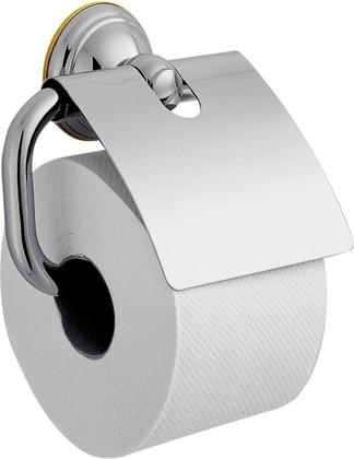 Держатель туалетной бумаги с крышкой, хром Hansgrohe AXOR Carlton 41438000